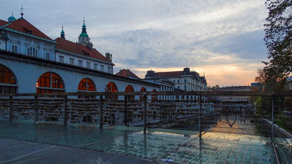 Butcher's bridge, Ljubljana