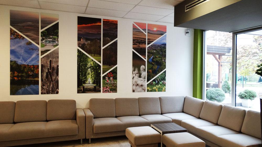 Lobby area Park Hotel Ljubljana