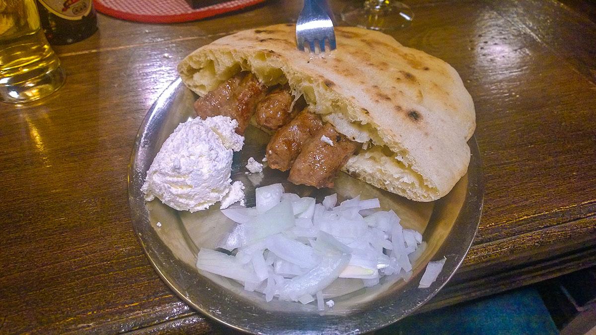 Super delicious cevapcici in Sarajevo '84
