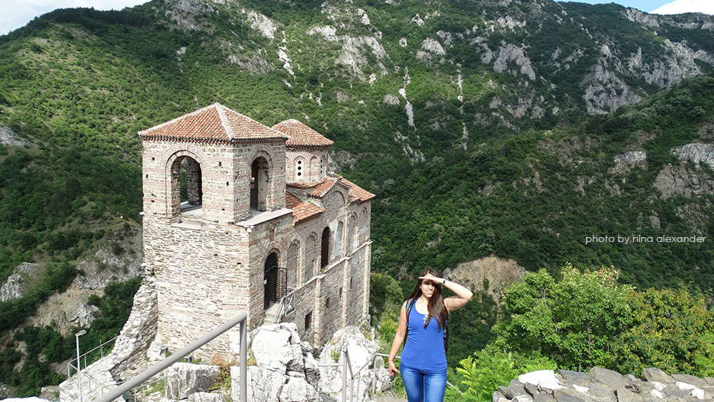 Assen's fortress, Bulgaria, Ellie