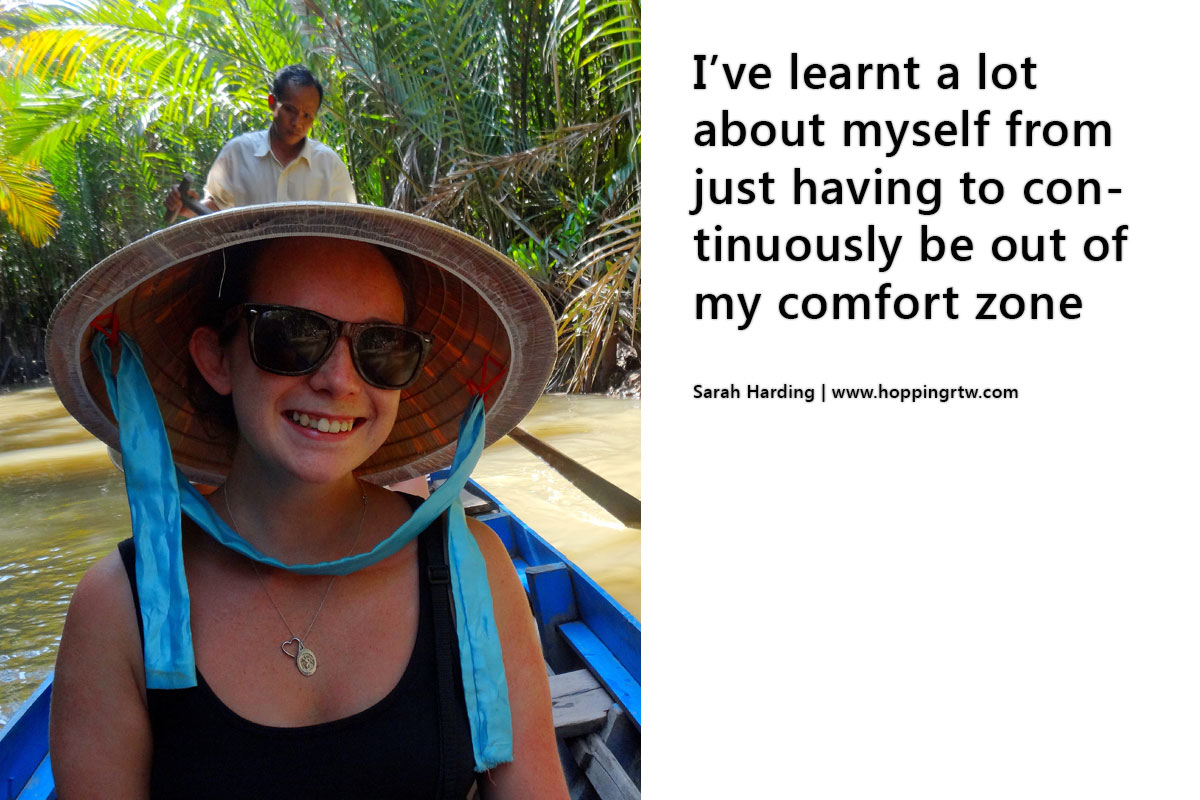 Sarah about how blogging changed her life