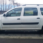 Dacia Logan, side, rent a car Bulgaria