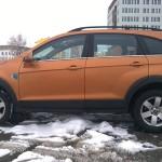 Rent a car Bulgaria, Chevrolet Captiva, side view