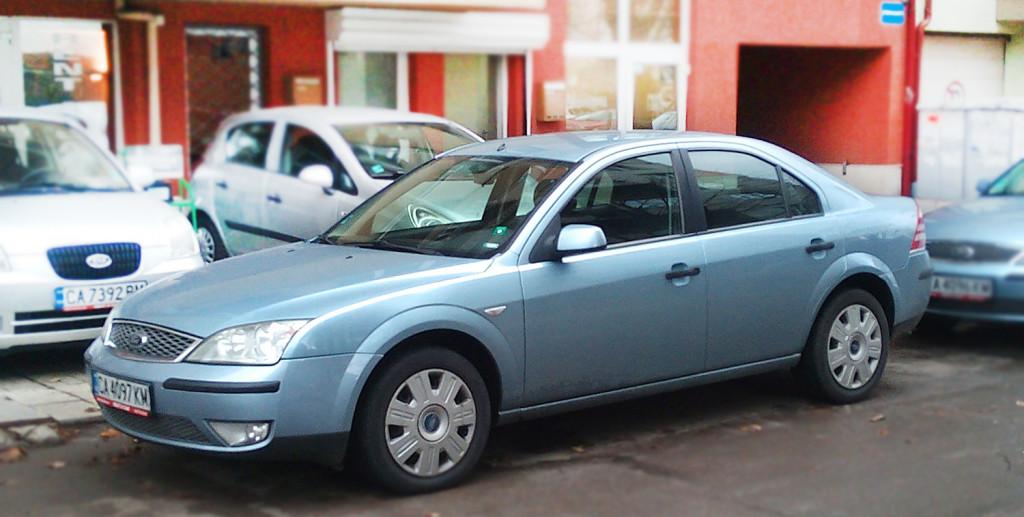 Val & Kar rented car Ford Mondeo