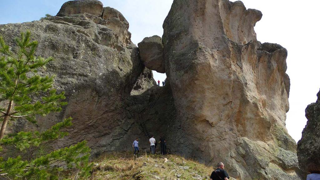 Karadjov Stone, Rhodope Mountain, Bulgaria