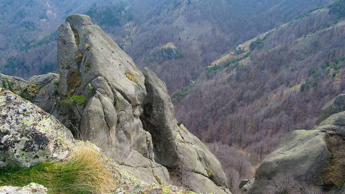 The view from Karadjov Stone 2