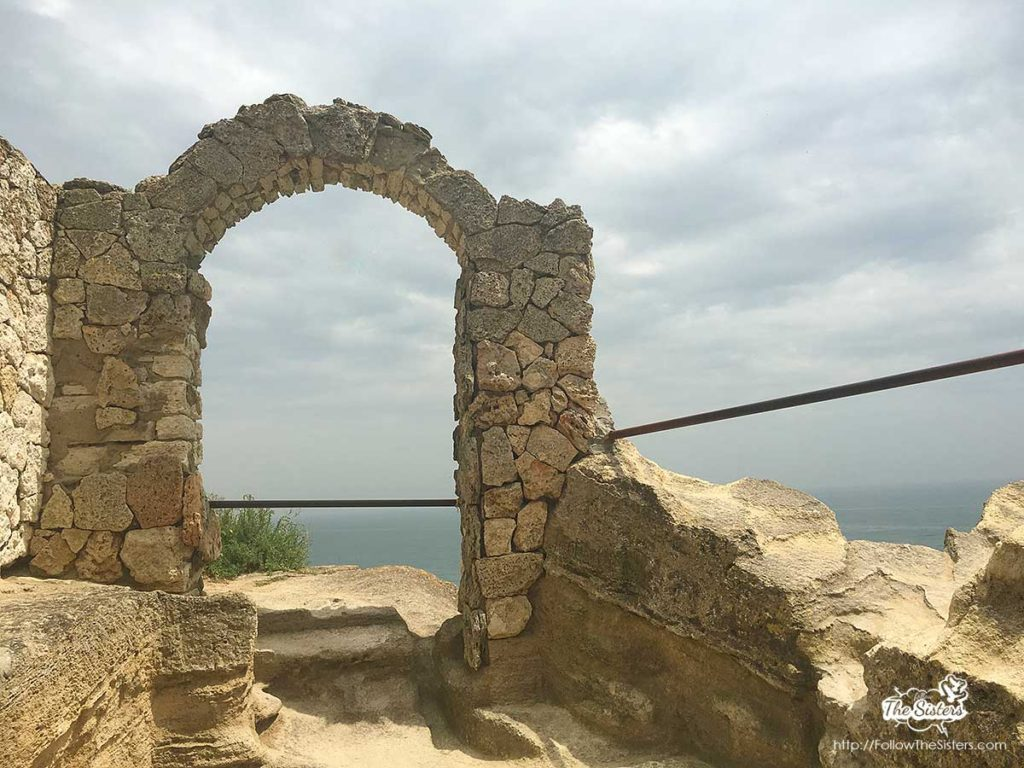 Cape Kaliakra - the arch of the 40 maidens