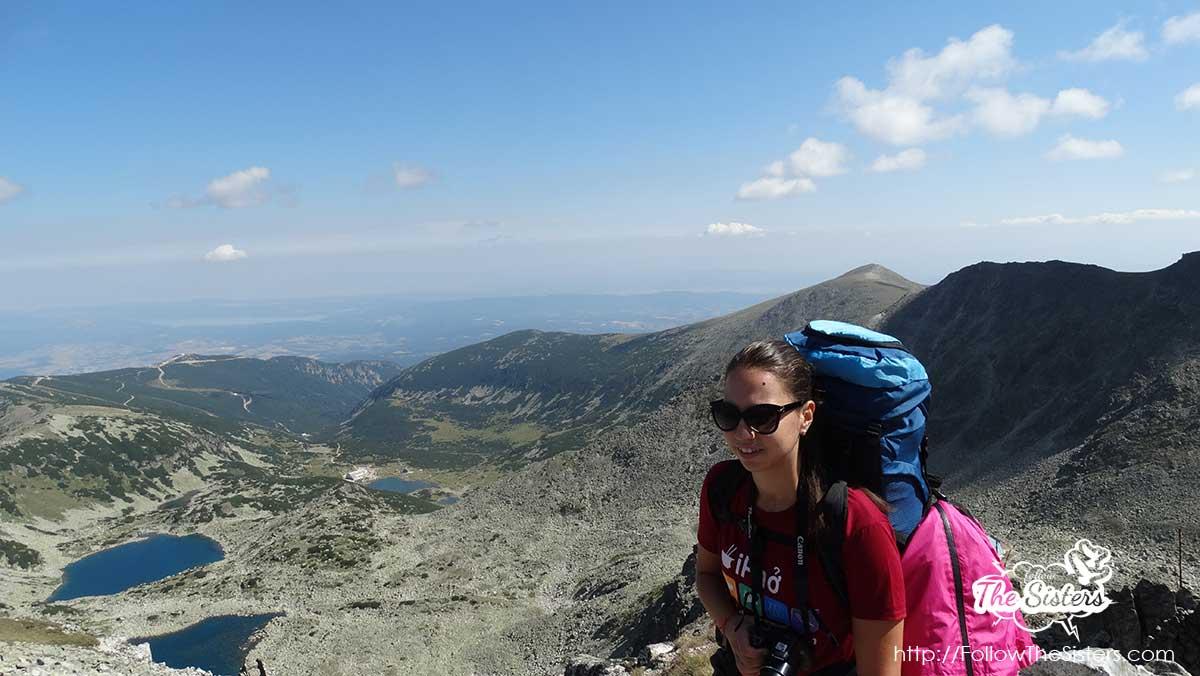 Ellie in Mount Rila