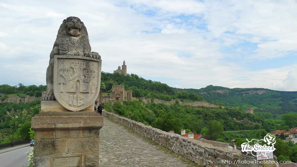 The entrance of Tsarevetz fortress in Veliko Tarnovo