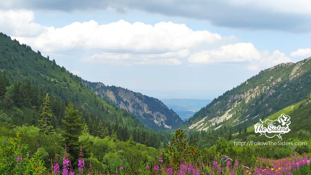 The incredible views in Mount Rila