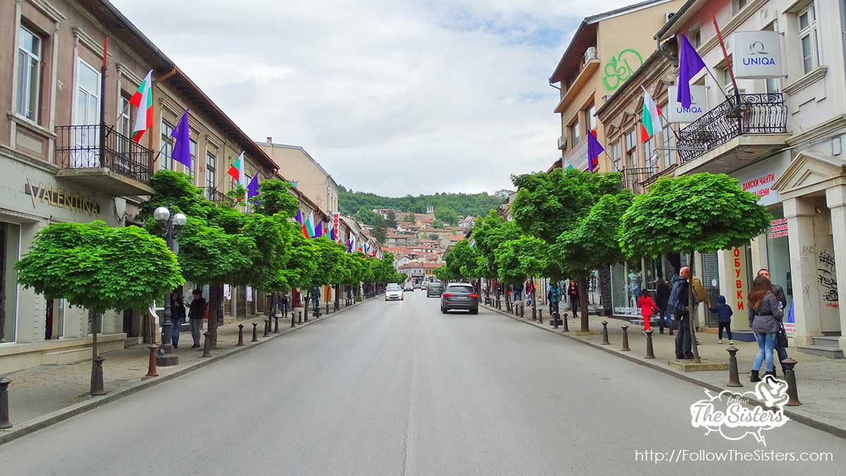 The main street of Veliko Tarnovo