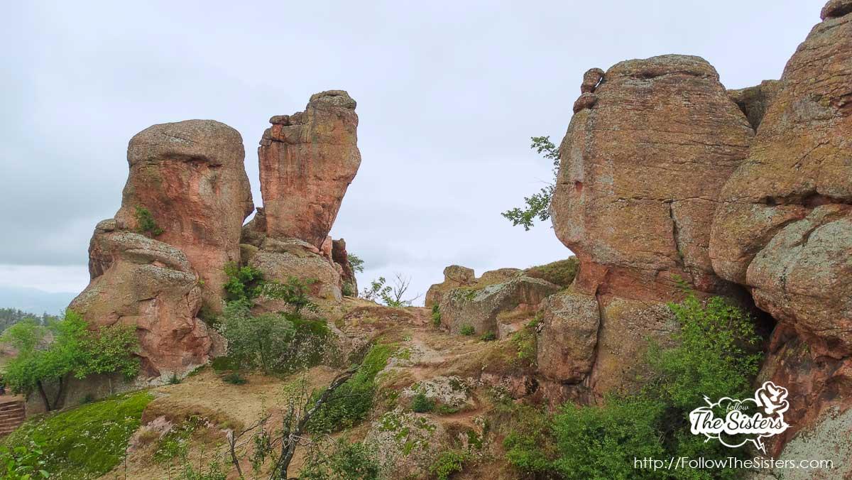 Amazing rock formations in Belogradchik