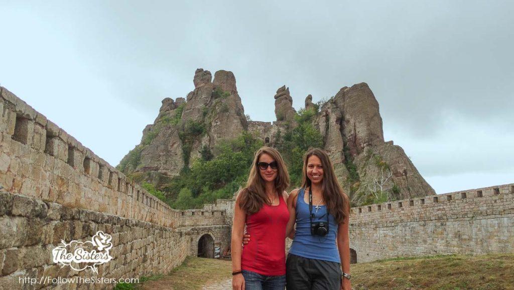 Nina and Elie in Belogradchik