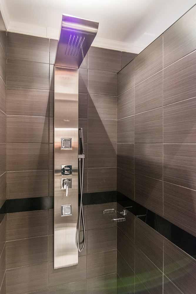 The gorgeous showers in villa Vuchev, Velingrad