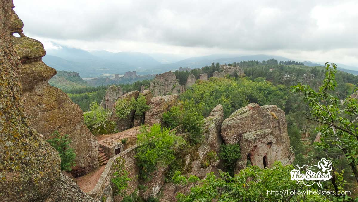 The view from Kaleto fortress