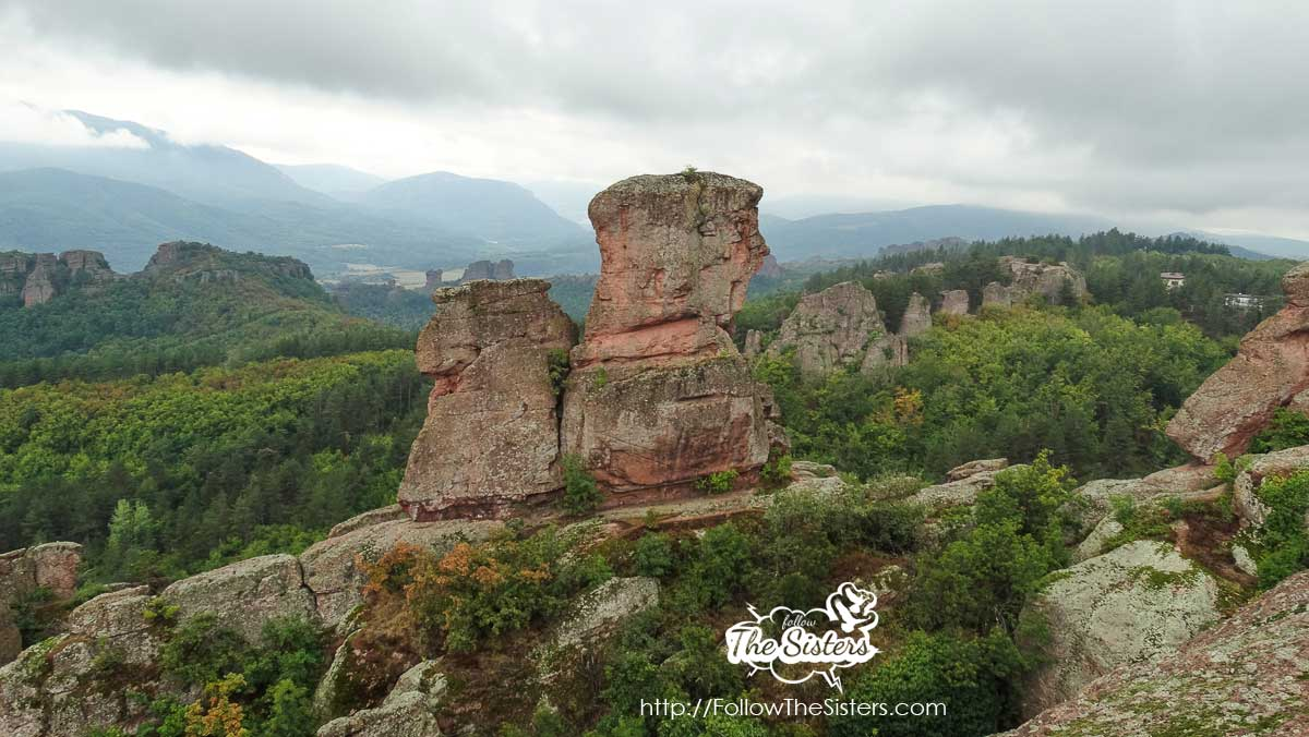 Weird rock faces in Belogradchik