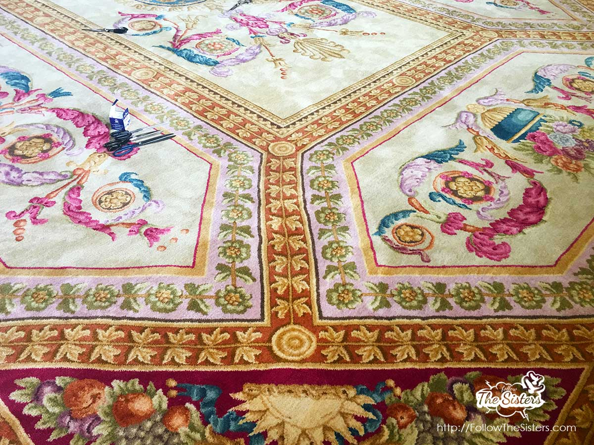 The beautiful carpets made in Kostandovo