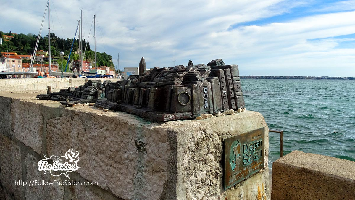 Random acts of Art in Piran