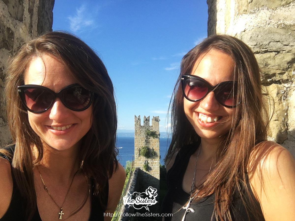 The Sisters at Piran Town Walls