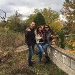 the winning team from the treasure hunt in park Rila, Dupnitsa