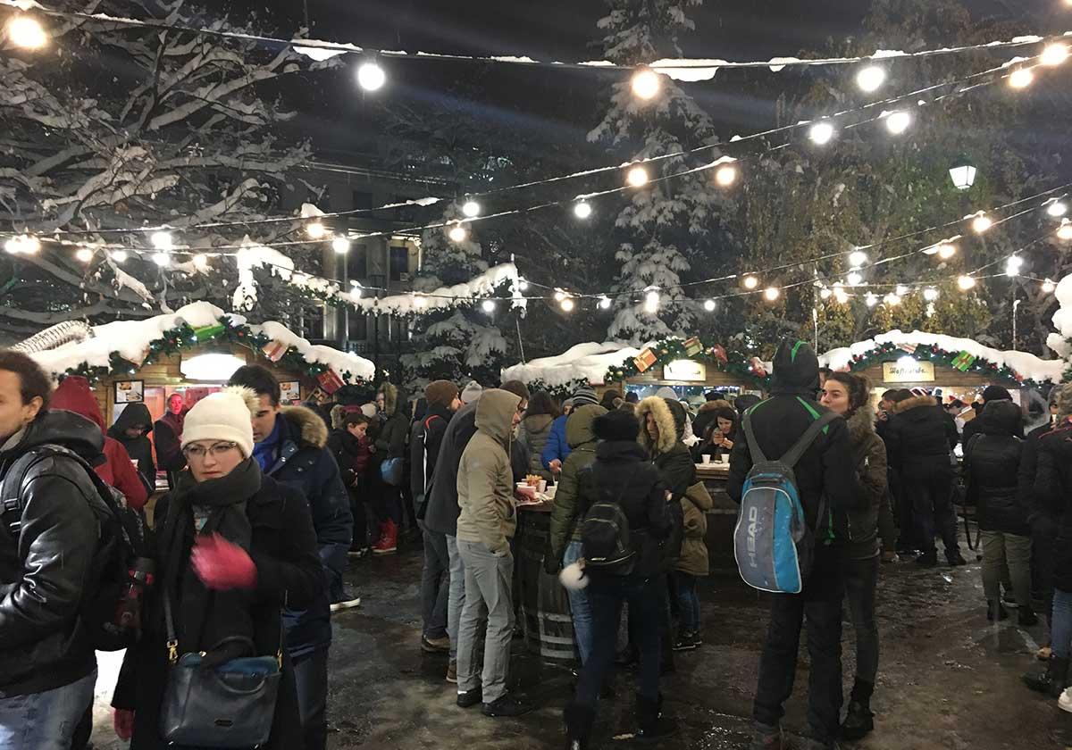 German Christmas Bazar, Sofia