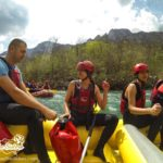Mastering the rafting