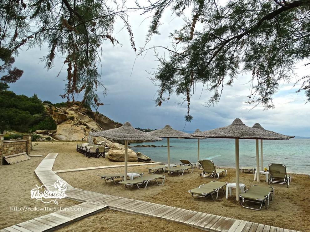 Talgo beach, Vourvourou