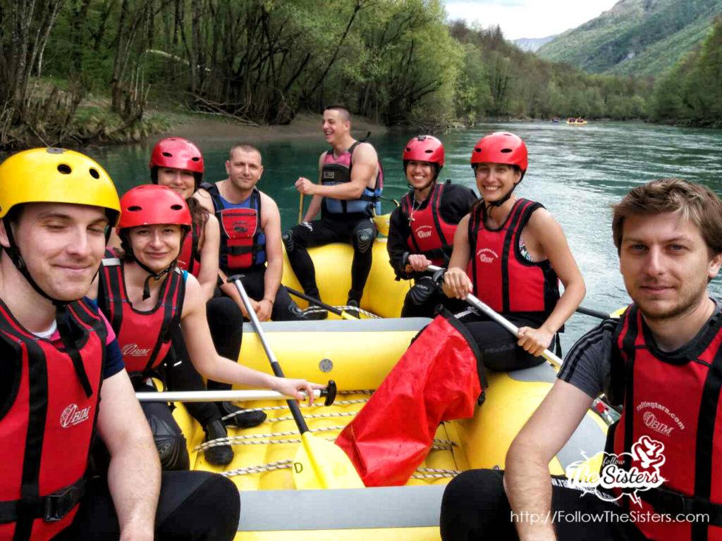 The best rafting team