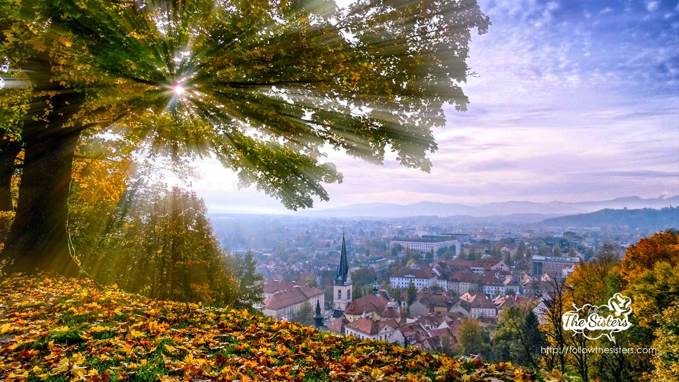 Autumn in Ljubljana