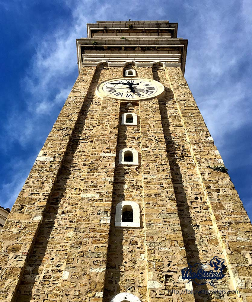 The clock tower Piran