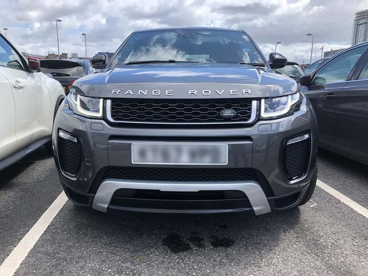 Renting a car in the UK - car 1