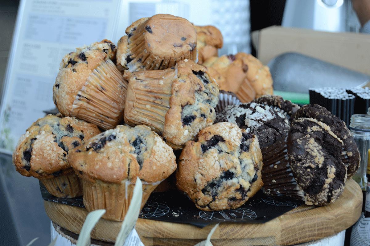 London Sky Garden muffins